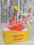 "ct-141216-08 Roger Rabbit 1988 PVC ""Take the plunge!"""