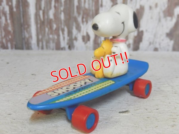 画像1: ct-160603-06 Snoopy / AVIVA 70's Skateboard