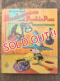 bk-160615-06 Mushmouse and Punkin Puss / Whitman 60's Picture Book