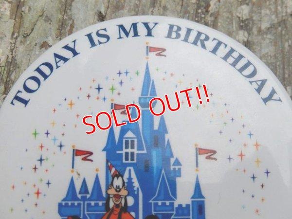 画像3: ct-160615-23 Disneyland / Today is My Birthday Pinback