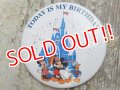 ct-160615-23 Disneyland / Today is My Birthday Pinback