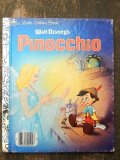 bk-160608-12 Pinocchio / 80's Little Golden Book
