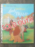 bk-160608-11 Lady and the Tramp / 90's Little Golden Book