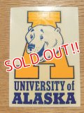 dp-160701-02 University of Alaska / Vintage Decal