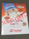 "ad-151103-01 Dairy Queen / 2000's Store Use Poster ""Peanut Butter Cup Pie"""