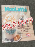 "ad-151103-01 Dairy Queen / 2000's Store Use Poster ""MooLatte"""