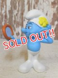 "ct-160615-35 Smurf / McDonald's 2011 Meal Toy ""Vanity"""