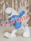 """ct-160615-35 Smurf / McDonald's 2013 Meal Toy """"Clumsy Smurf"""""""