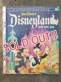 bk-160706-15 Walt Disney's Disneyland On The Air / 50's Picture Book