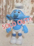 "ct-160805-13 Smurf / McDonald's 2011 Meal Toy ""Panicky Smurf"""