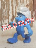 "ct-160805-13 Smurf / McDonald's 2011 Meal Toy ""Handy Smurf"""
