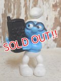 "ct-160805-13 Smurf / McDonald's 2011 Meal Toy ""Brainy Smurf"""