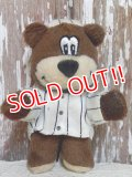 ct-160801-12 A&W / Great Root Bear 2003 mini Plush Doll