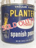 ct-160823-04 Planters / Mr.Peanuts 70's Spanish Peanuts Tin Can