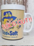 ct-160823-13 Nice'n Soft / 80's Advertising Mug