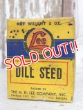 dp-160823-09 Lee / 30's-40's DILL SEED Box