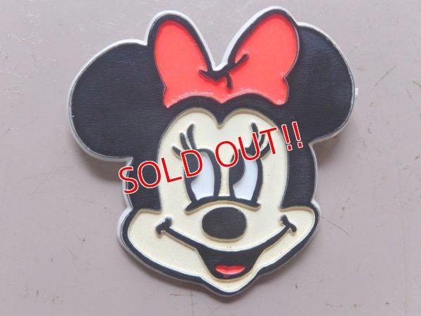画像1: ct-160901-18 Minnie Mouse / Plastic Pinback