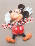 ct-160901-15 Mickey Mouse / 70's Plastic Pinback