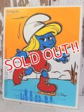 ct-160901-40 Smurfette / Playskool 80's Wood Puzzle