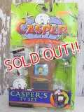 "ct-161003-07 Casper / Casper 90's Hide & Seek Friends ""Casper's TV Set"""