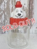 dp-161015-07 Bosco / Hazel Atlas 60's Clown Glass Jar