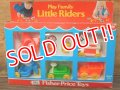 ct-161001-21 Fisher-Price / 1974 Play Family Little Riders Box