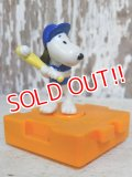 "ct-161001-12 Snoopy / McDonald's 1996 Meal Toy ""Baseball"""