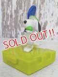 """ct-161001-12 Snoopy / McDonald's 1996 Meal Toy """"Tennis"""""""