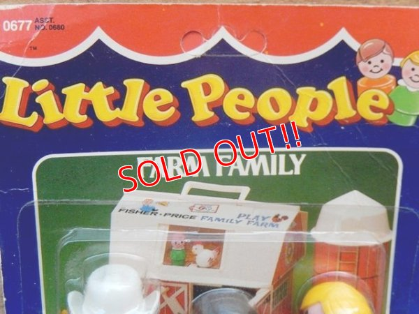 "画像4: fp-161001-18 Fisher-Price / 80's Little People ""Farm Family"""