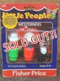 "fp-161001-20 Fisher-Price / 80's Little People ""Westerners"""