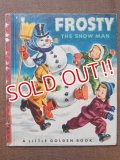 ct-150401-09 FROSTY THE SNOWMAN / 50's Picture Book