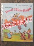 bk-160706-11 Walt Disney's Toad Flies High / 80's Picture Book