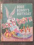 bk-160706-07 Bugs Bunny Birthday / 50's Picture Book