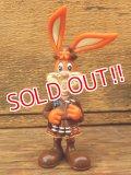 ct-161003-42 Nestlé / Quik Bunny 90's Mini PVC Figure (C)