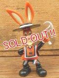 ct-161003-42 Nestlé / Quik Bunny 90's Mini PVC Figure (F)