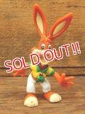 ct-161003-42 Nestlé / Quik Bunny 90's Mini PVC Figure (B)