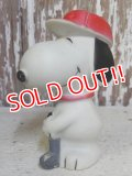 "ct-161110-11 Snoopy / 70's-80's Vinyl Squeak Toy ""Golf"""
