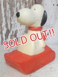 ct-161120-08 Snoopy / 70's AVON Snow Flyer Bubble Bath Bottle