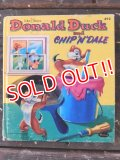 bk-170301-01 Donald Duck and Chip 'n' Dale / 60's Picture Book