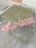 dp-170301-01 U.S. ARMY Metal Folding Chair