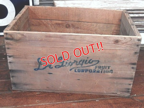 画像2: dp-130701-03 40's-50's Fruit Wood Box