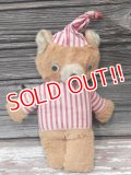 ct-170401-09 Unknown Vintage Bear Plush Doll