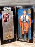 "ct-170501-34 STAR WARS / Kenner 1996 Luke Skywalker X-wing Gear 12"" Figure"