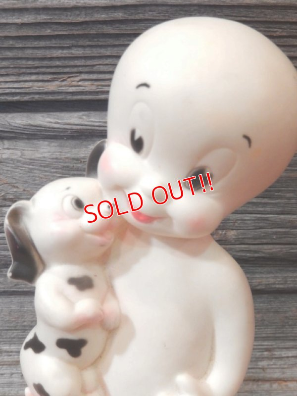 画像2: ct-170404-08 Casper with Puppy / 1950's-1960's Rubber Doll