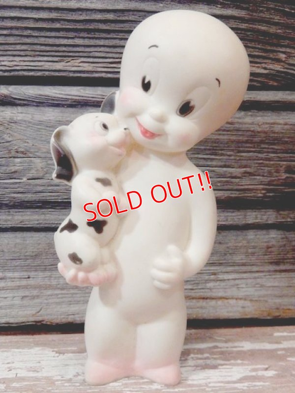画像1: ct-170404-08 Casper with Puppy / 1950's-1960's Rubber Doll