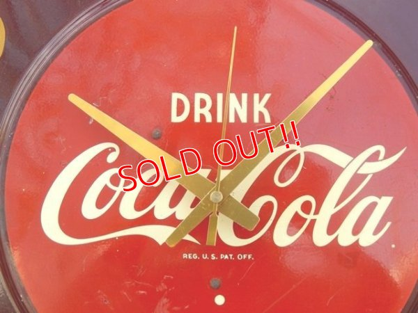 画像2: dp-170404-08 Coca Cola / 1950's Wall Clock