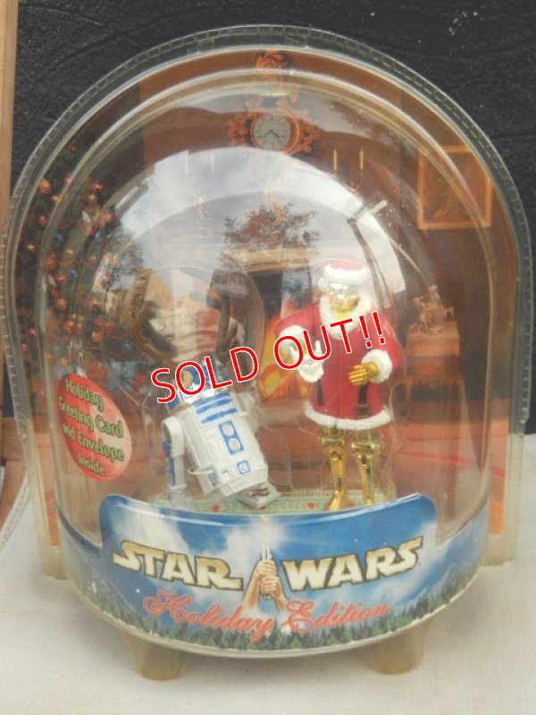 "画像2: ct-170501-46 STAR WARS / Hasbro 2002 Holiday Edition ""C-3PO & R2-D2"""