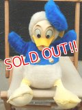 ct-120523-77 Donald Duck / 1970's Rubber Face Plush Doll