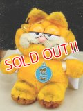 "ct-140415-50 Garfield / R.DAKIN 1980's Plush Doll ""Angel"""