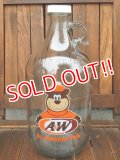 ct-170511-01 A&W / Root Beer 2000's Half Gallon Bottle